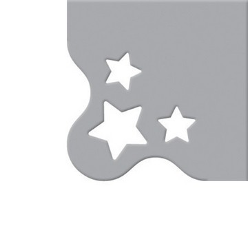We R Memory Keepers Crop-A-Dile III Cutting Plates Star Corner 71018-9