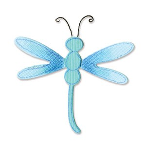 Sizzix Stanzform Sizzlits SMALL 1-er Libelle # 3 / dragonfly # 3 656515