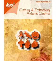 Joycrafts Stanzform Herbst-Charms / Autumn Charms 6002/0780