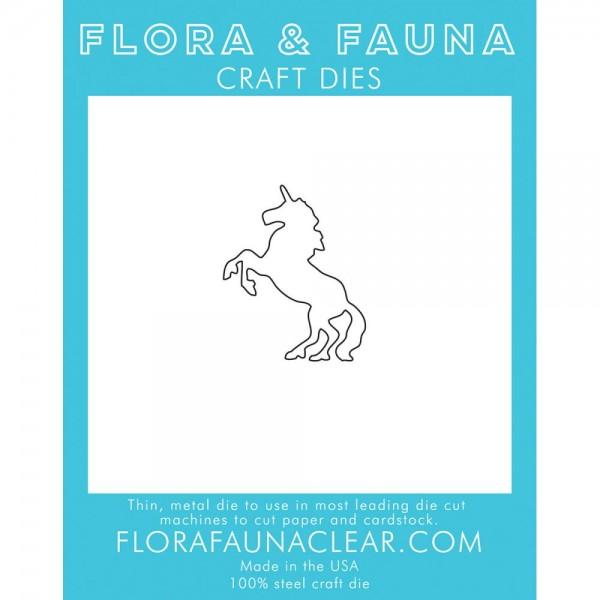 Flora & Fauna Stanzform Einhorn / Unicorn 39037