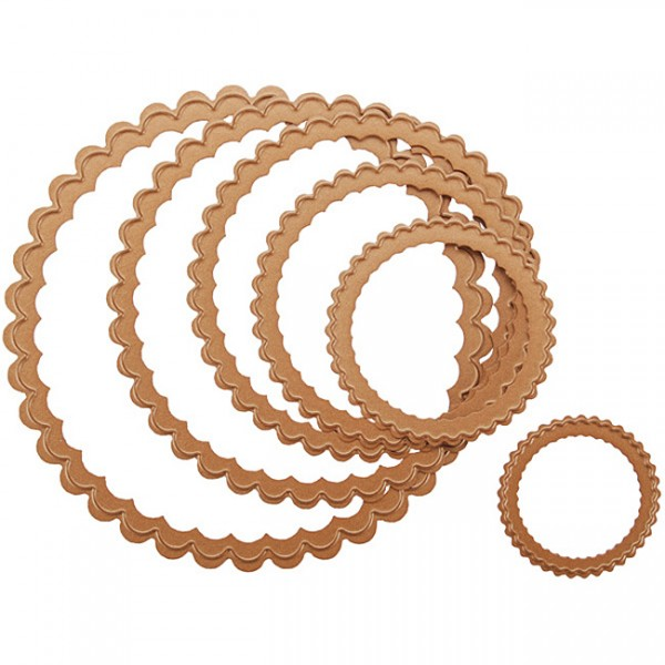 Spellbinders Stanzform Petite Kreise gewellt groß/petite scalloped circle large S4-115