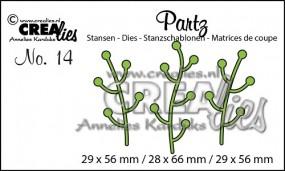 Crealies Partz Nr.14 Zweige CLPartz14