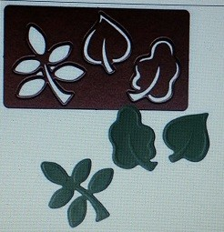 Spellbinders Stanzform Blätter S3-092