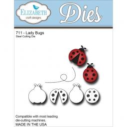 Elizabeth Craft Stanzform Marienkäfer / Ladybugs 711