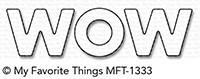 Dienamics Stanzform ' WOW ' MFT-1333