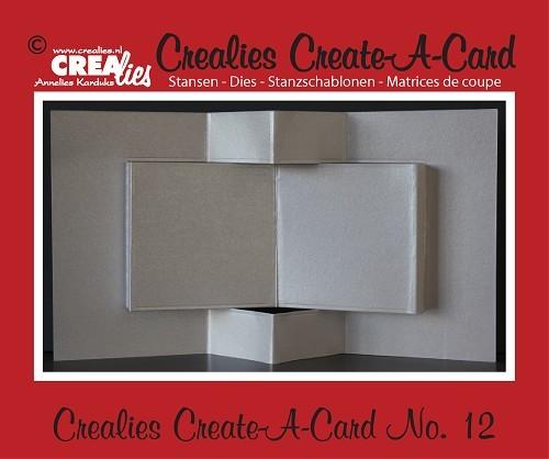 Crealies Stanzform Create A Card Nr. 12 CCAC12