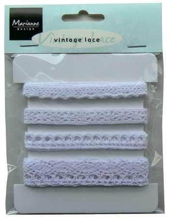 Marianne D Bänder Vintage Lace weiss JU0824
