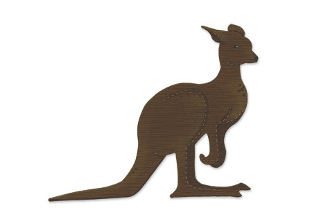 Allstar BIGZ Stanzform Könguruh / Kangaroo A 10809