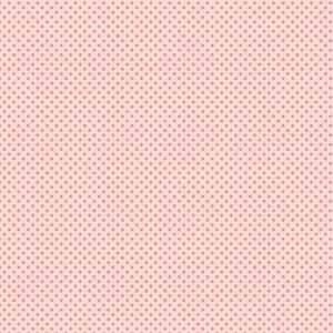 SLICE Vinyl PINK Dot ( WEISS mit rosa Punkten ) 30,5 cm x 30,5 c