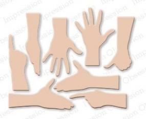 Impression Obsession Stanzform Hand-Set/Hand Set DIE136-Q