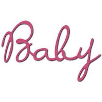 Bosskut Stanzform ' Baby ' 0590