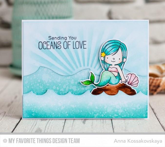 My Latest Article On Things: My Favorite Things Clear Stamps Meerjungfrau / Mermazing