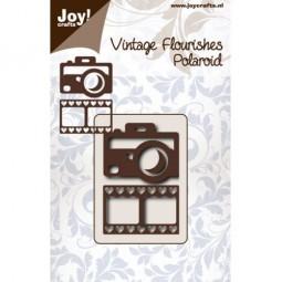 Joycrafts Stanzform Photoapparat / foto / Filmstrip / Polaroid Camera with Film Strip 6003/0067