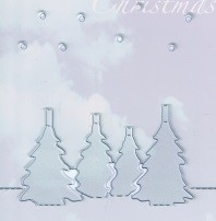 Joycrafts Stanzform Pop-Up Bäume 6003/2004