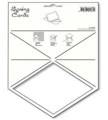 Schablone Spring Card Diamond SC 6607