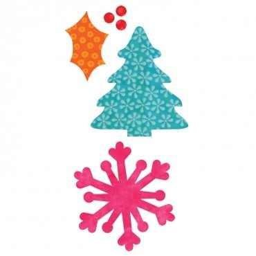 Stanzform Go ! Holiday Medley (Schneeflocke u. Tannenbaum ) 55