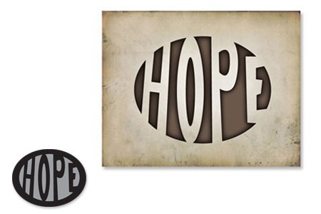 Sizzix Einsatz-Stanzform Movers & Shapers ' Hope ' 656934