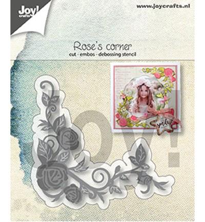 Joycrafts Stanzform Rosen-Ecke / Rose' s Corner 6002/1294