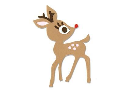 Sizzix Stanzform BIGZ Rehkitz / Deer 657049