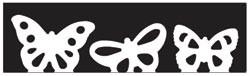 Martha Stewart Border - Stanzer monarch butterfly 42-40047