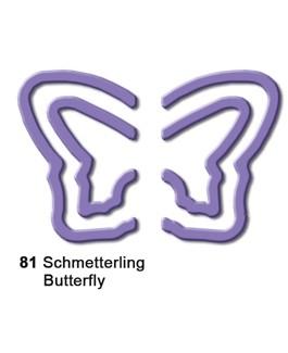 Motivstanzer Pop-up groß Schmetterling ( flieder ) UR 1944 00 81
