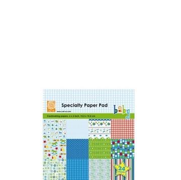 Cart-Us Paper Pad BABY BOY 15,2 x 15,2 cm 980010/0004