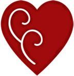 Herz vintage / vintage heart 0965