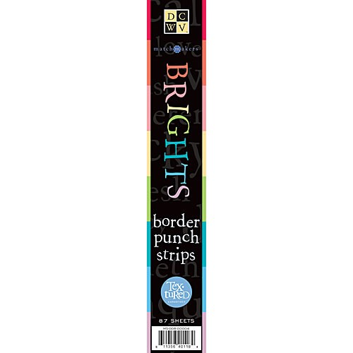 Papierblock Border Strips Brights 5,1 x 30,5 cm MS-008-00004
