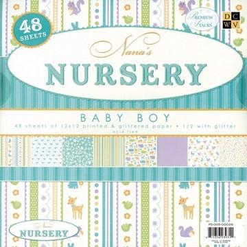 Papierblock Nursery BOY 30,5 x 30,5 cm PS-005-00026