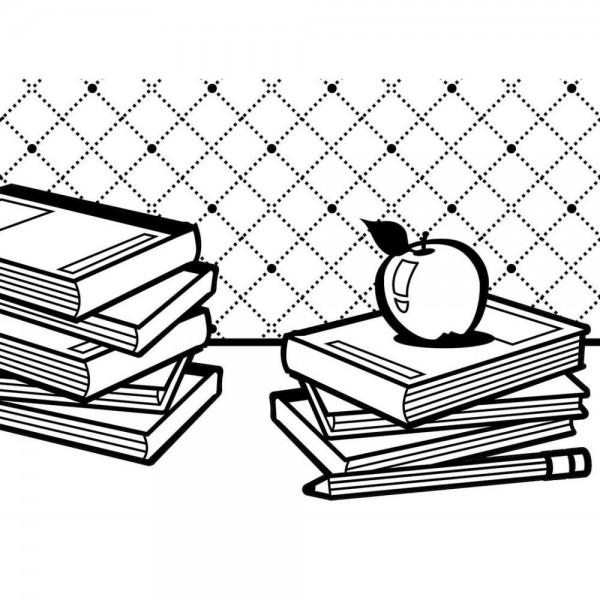 Darice Prägefolder Schulbücher / School Books 1219-103