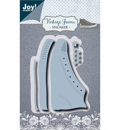 Joycrafts Stanzform Sport-Schuh / Vintage Jeans Sneaker 6002/1389