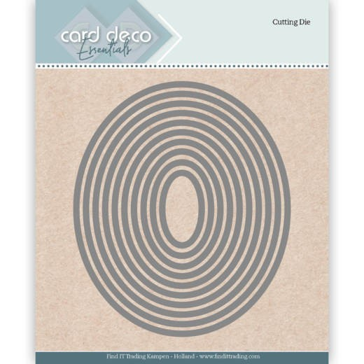Card Deco Stanzform Ovale CDECD0021
