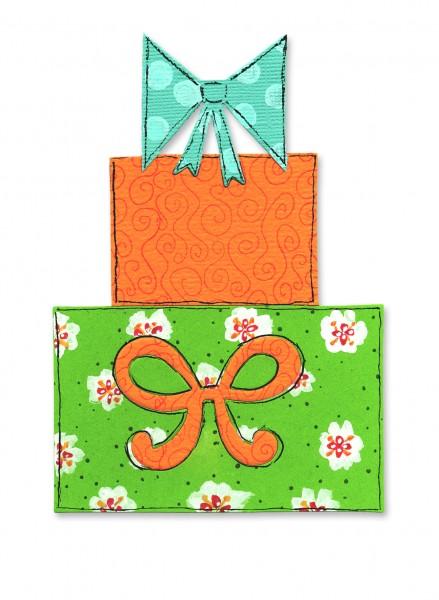 Sizzix Stanzform BIGZ Geschenke u. Schleifen / gifts, stacking w/ bows 656112
