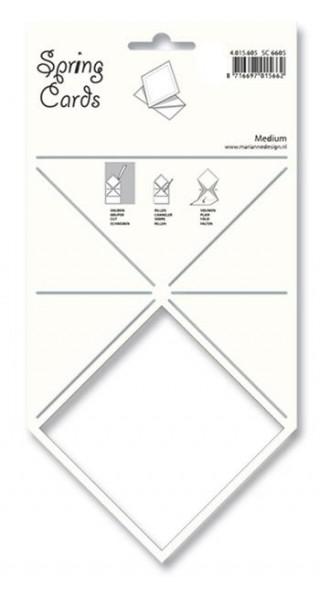 Schablone Spring Card MEDIUM SC 6605