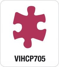 Motivstanzer Giant Puzzle VIHCP705 ( rosa )