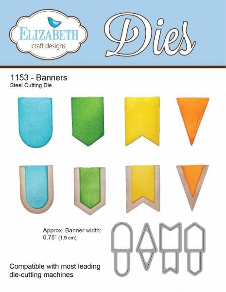 Elizabeth Craft Stanzform Banners 1153