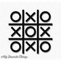 Dienamics Tic Tac Toe SCHWARZ / Tic Tac Toe-Black SUPPLY-676