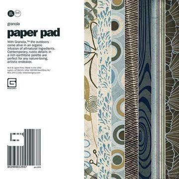 Paper Pad GRANOLA 15,2 cm x 15,2 cm GRA-1280