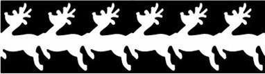 EK Success Slim Edge Large Reindeer 54-50012