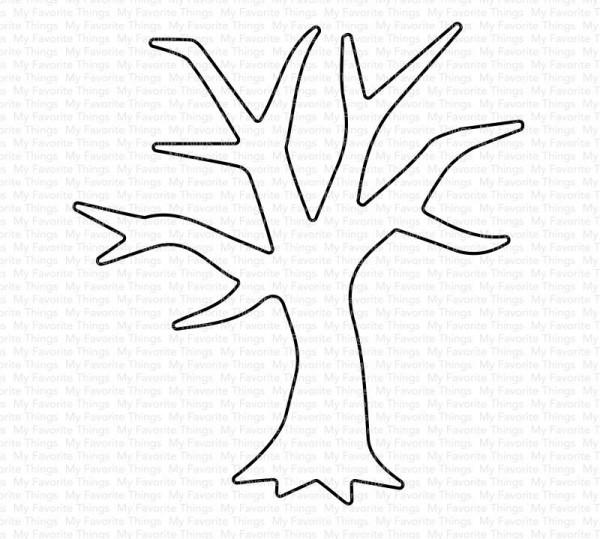 Dienamics Stanzformen Baum / Eerie Tree MFT-1579