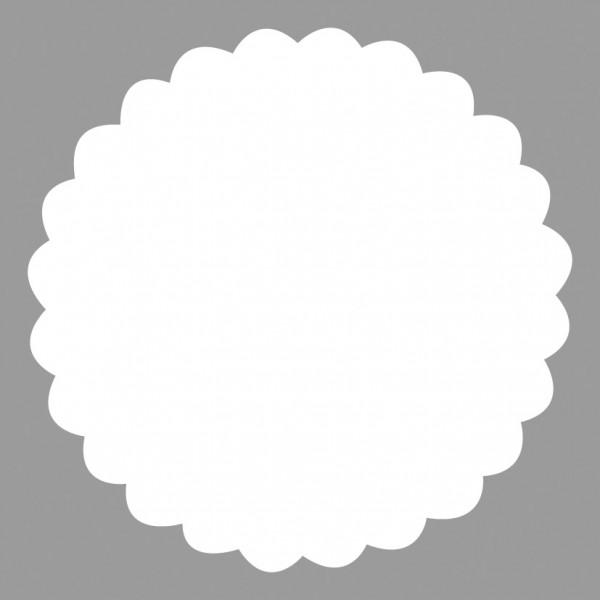 Rayher Motivstanzer Kreis gewellt 6,3 cm 89-643-00 (orange )