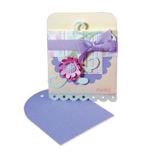 Sizzix Stanzform BIGZ XL Einsteck-Umschlag 10,6 cm x 10,2 cm / Envelope Pocket 656264