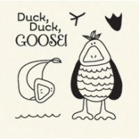 Basic Grey Clear Stamps Duck, Duck , Goose 2088-6