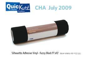 Vinyl FUZZY BLACK zum Ausstanzen &-schneiden SILH-VINYL-10
