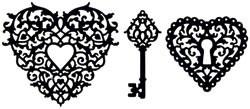 Glimmer Screens Stencils timeless romance 13859