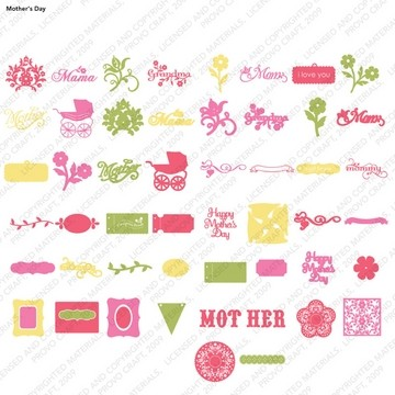 Cricut Cartridge Spring Sollection Mothers Day 2000101