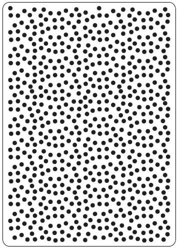 Crafts Too Prägefolder exclusiv Polka Dots CTFD3023