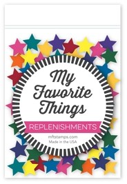 My Favorite Things Konfetti Sterne bunt / Mixed Diemnsional Star Confetti SUPPLY-545