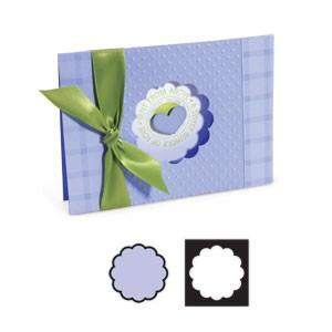 Sizzix Stanzform Movers & Shapers Einsatz Kreis groß gewellt / Circle Scallop 656438