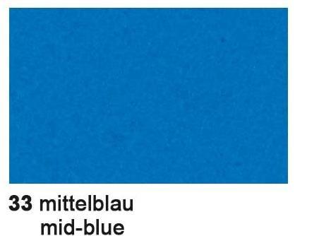 Filz 3,3 mm MITTEL-BLAU 2000 00 33